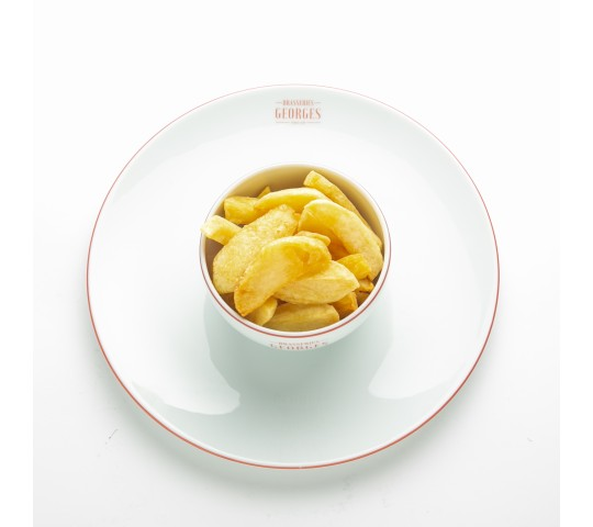 Frites à l'ancienne, huile d'olive
