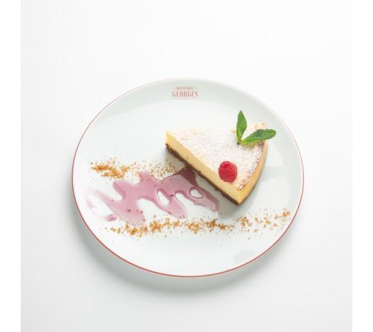 Cheesecake New-Yorkais au spéculoos, coulis de Cuberdon