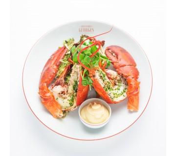 Homard ''Belle-Vue'' cuit à la minute, servi tiède (25 min)