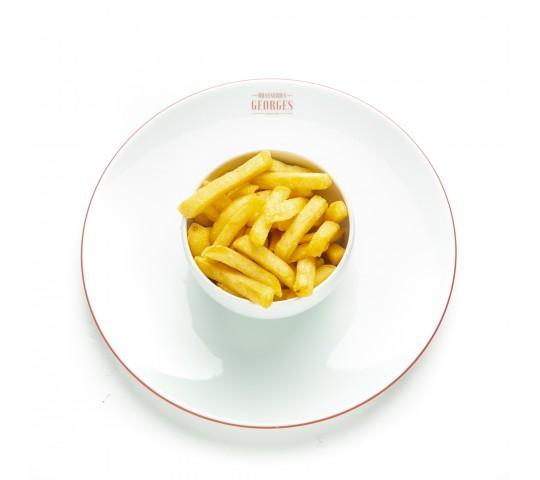 Frites cuites dans la graisse de boeuf